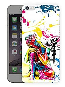 """Humor Gang Buddha In PaintPrinted Designer Mobile Back Cover For """"Apple Iphone 6-6S"""" (3D, Matte Finish, Premium Quality, Protective Snap On Slim Hard Phone Case, Multi Color)…"""