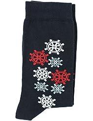 Mirou marine/blanc/rouge - Chaussettes HUBLOT