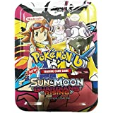 Charnalia Pokemon Sun and Moon Guardians Rising Trading Card Game in Metal Box 65 Cards Set