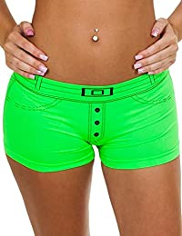 09a2d57a5d80 Love My Fashions®Ladies Knickers Pants Womens Denim causal Cotton Style Underwear  Boxer Shorts Summer