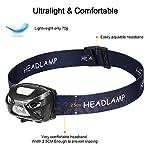 eecoo-Lampada-Frontale-LED-USB-Ricaricabile-1200-mAh-Lampada-Testa-IPX4-8-modalit-Sensore-Movimento-Torcia-Frontale-6000K-300lm-30h-Durata-Ideale-per-Running-Pesca-Campeggio-Trekking-Ciclismo