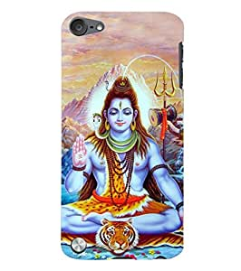 Fuson Designer Phone Back Case Cover Apple iPod Touch 5 :: Apple iPod 5 (5th Generation) ( Lord Shiva Giving His Blessings )