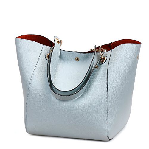 Ruiren New Fashion Handtasche Portable Multifunktionale Umhängetasche Casual Messenger Bag für Frauen Blau