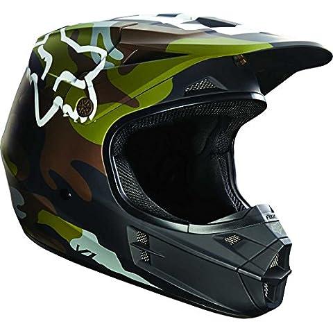 Fox camuflaje verde 2016Special Edition V1MX Casco