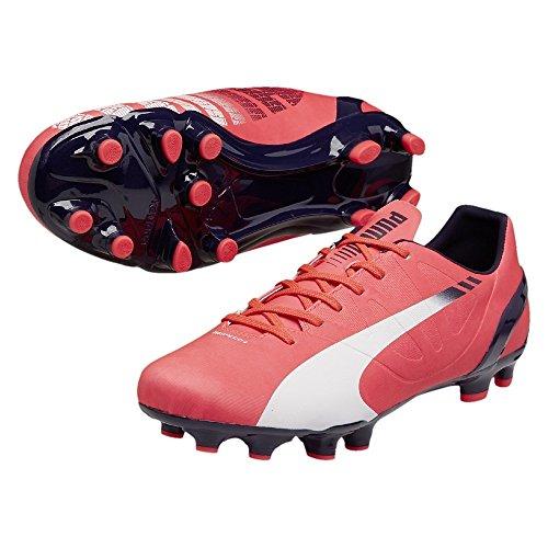 Puma - evoSPEED 4.3 FG, Scarpe da calcio da unisex adulto Rosa(Pink)