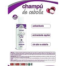 CHAMPU DE CEBOLLA, ANTIOXIDANTE Y ESTIMULANTE CAPILAR. SIN OLOR A CEBOLLA