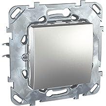 Schneider electric SC5MGU520330ZF - Iluminación unicatop cambio interruptor alcylon & amp; de aluminio para la