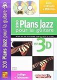 Robert Yannick 200 Plans Jazz Pour La Guitare En 3D Gtr Bk/Cd/Dvd Fre
