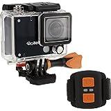 Rollei Actioncam 420 Caméscope WiFi de 12 Mégapixels - Resolution Vidéo 4K/2K et Full HD - Imperméable à 40 m Noir