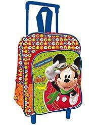 Mickey Mouse - Mochila con carro infantil (Fantasy DS3927/AS7139)