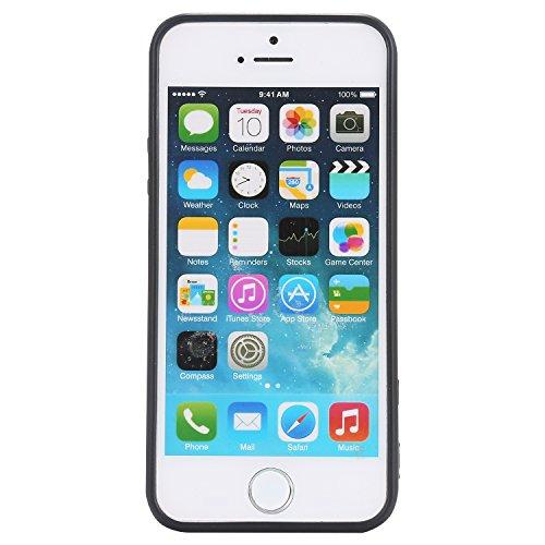 iPhone 5S / iPhone SE Hülle, Voguecase Silikon Schutzhülle / Case / Cover / Hülle / TPU Gel Skin für Apple iPhone 5 5G 5S SE(Einhorn 09) + Gratis Universal Eingabestift MUSIC