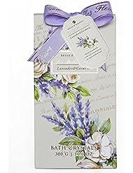 Gloss! Set de Bain Crystal les Belles Fleurs Lavande 1 Pièces
