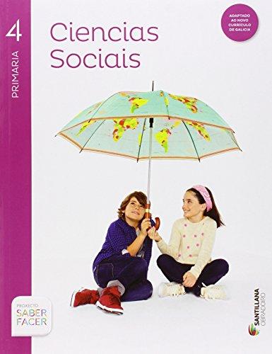 CIENCIAS SOCIALES 4 PRIMARIA OBRADOIRO - 9788499727141 por Vv.Aa