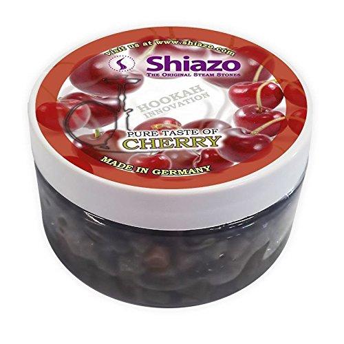 Shiazo 100gr. Dampfsteine Stein Granulat - Nikotinfreier Tabakersatz 100g (Kirsche 100g)