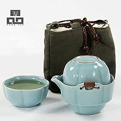 GENERIC 16 : Coffee Tea Sets,Portable Travel Tea Set,Travel Tea Mug,Ceramic TeaPot Cup of Tea Kettle Porcelain,Chinese Kung Fu TeaSets