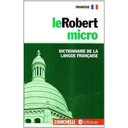 Lerobert Micro. Dictionnaire De La Langue Française