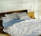 Pierre Cardin - Funda nórdica, bajera y almohadón mod.NUBES 135cm. (220X245cm) Fácil planchado.