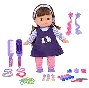 Hamleys Calinou Doll and Fashion Accessories for Kids Above 2 Years