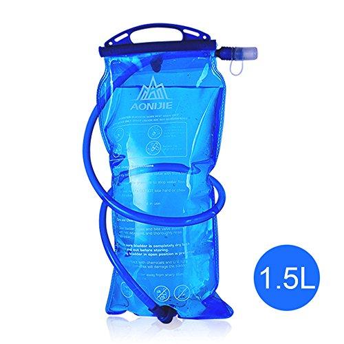 Fastar Outdoor zaino Outdoor sacchetto della vescica dell' acqua esterno portatile zaino acqua borsa per sport outdoor ciclismo, trekking, campeggio arrampicata corsa Water bag Type C:1.5L