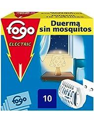Fogo Anti-Mosquitos Insecticida Insectos Voladores Aparato Eléctrico + 10 Pastillas