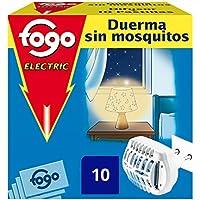 Fogo Insecticida Insectos Voladores, Aparato Eléctrico + 10 pastillas (paquete de 2)