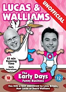 Lucas & Walliams - The Early Days Funny Business - Unofficial [DVD]