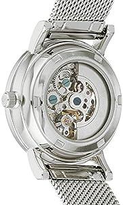 Original para mujer Stuhrling Castorra automático reloj infantil con mecanismo de esfera analógica y plateado correa de acero inoxidable de 832l, 01 de Stuhrling Original