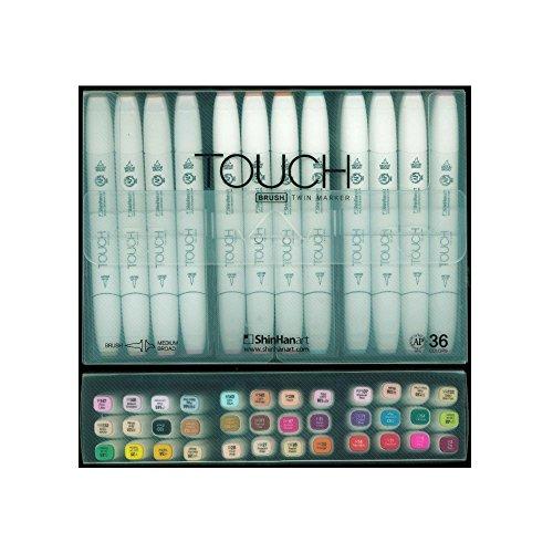 Preisvergleich Produktbild Touch Brush Marker 36er Set