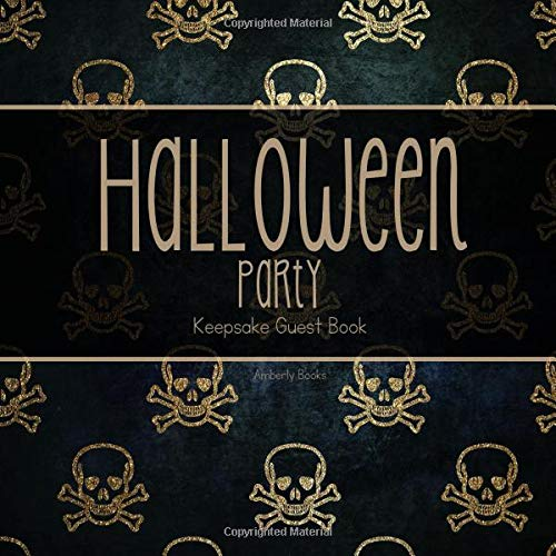 Halloween Party Keepsake Guest Book (Spooky Science Halloween Special)