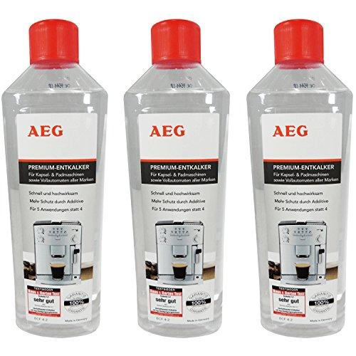 3er Pack AEG Premium-Entkalker ECF 4-2 / 900167954 Inhalt 500m