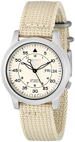 seiko-mens-snk803k2-beige-nylon-automatic-beige-dial-watch