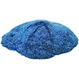 Crown Glitter Powder For Creative DIY Arts & Crafts, 100 grams (Sky Blue)