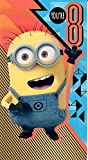 Despicable Me 3 Happy Birthday you 're 8 Age 8 Geburtstagskarte