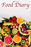 Food Diary: 100 page food diary with sections for breakfast, lunch and dinner and columns for recording calories and making notes for diet journal, ... motivate yourself to a healthy lifestyle