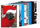 10er-Set: Postkarten A6 +++ MIX SET Nr. 1 von modern times +++ 10 lustige Motive zu WEIHNACHTEN +++
