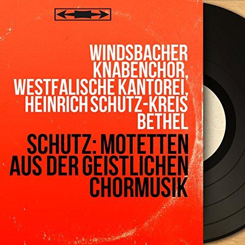 Geistliche Chor-Music, Op. 11: No. 12, Also hat Gott die Welt geliebt, SWV 380