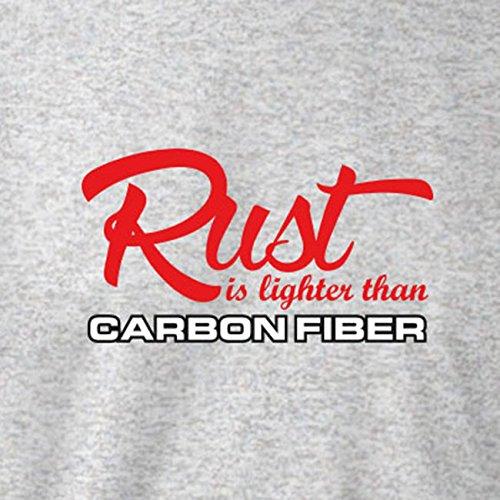 TEXLAB - Rust is lighter than Carbon Fiber - Stoffbeutel Apfelgrün