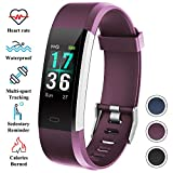 ITSHINY Pulsera Actividad Inteligente Mujer, Monitores Actividad Pulsera Deportiva Impermeable IP68 Reloj Fitness Tracker Hombre