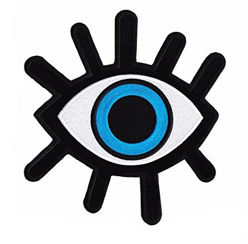Parche Ojo Azul Blue Eye - 22.5 cm x 21 cm XL Tamaño