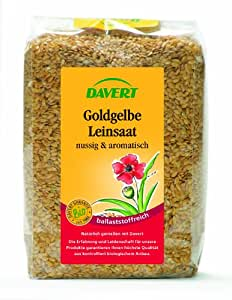 Davert Goldgelbe Leinsaat,4er Pack