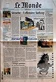monde le no 17825 du 18 05 2002 angola des dizaines de milliers de personnes meurent de faim et notre editorial telecommunications les deboires de deutsche telekom assurances les tarifs augmentent football france belgique au stade de france judo trois medailles pour la france portrait michelin seul patron apres dieu securite l offensive sarkozy 11 septembre bush avait il ete prevenu ? ces deux cardinaux qui evoquent une eventuelle demission du pape par hen