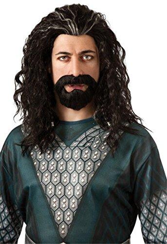 Der Hobbit Thorin Eichenschild Perücke und (Thorin Eichenschild Kostüm)