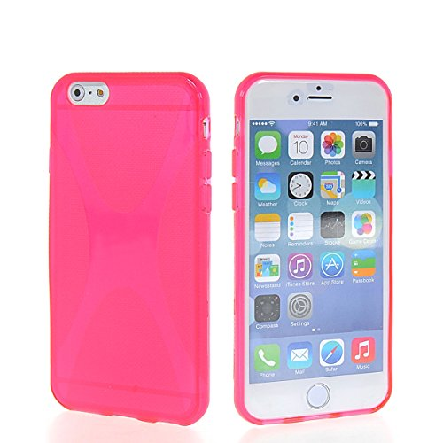 MOONCASE TPU Silicone Housse Coque Etui Gel Case Cover Pour Apple iPhone 6 (4.7 inch) Gris HotRose
