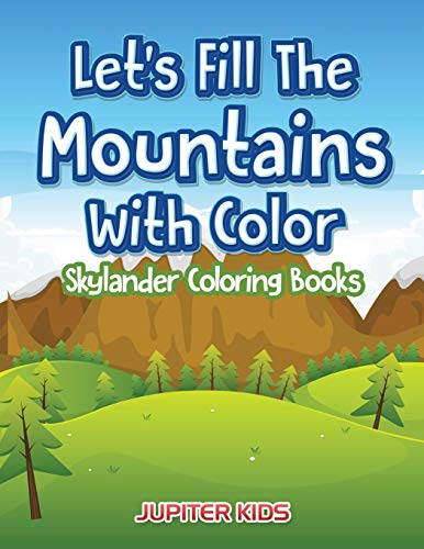 ains With Color: Skylander Coloring Books ()