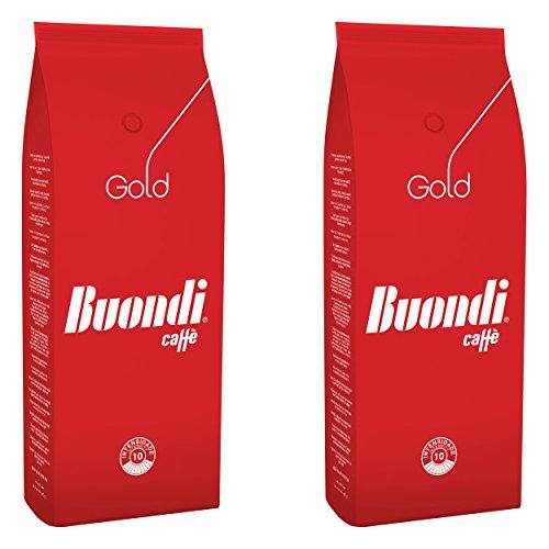 Buondì Gold, Chicch Interi, Caffè, Espresso, Cappuccino, Caffelatte, 2 x 1000g