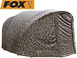 Fox R-Series XL 2 Man camo Wrap - Überwurf für Angelzelt, Zeltüberwurf für Zelt, Außenhülle für Karpfenzelt