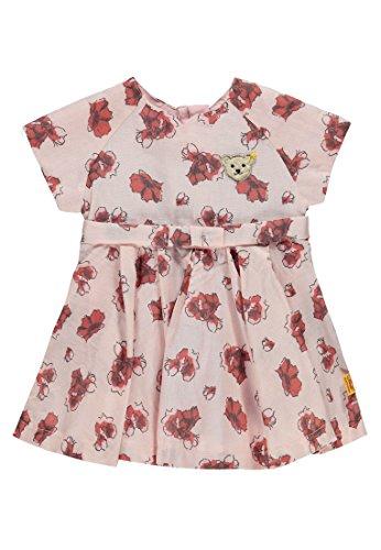 Steiff Baby-Mädchen Kleid 1/4 Arm, Mehrfarbig (Allover 0003), 86