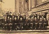 der stärkste Wissenschaftler im 20. Jahrhundert in der Physik - Ein berühmtes Foto in der Geschichte der Menschheit, die 5. Solvay Konferenz, nostalgisches Retro Poster, Wand Art Deco Poster