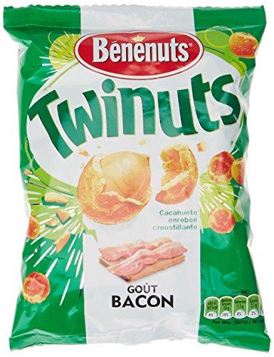 Benenuts Twinuts goût Bacon 150 g - Lot de 5