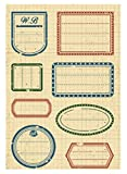 Tic-Tac Nouveaux Clear Stamp 16x11cm Timbres Scrapbook Tampons #05